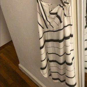 Banana Republic Asymmetrical Striped Skirt (4)